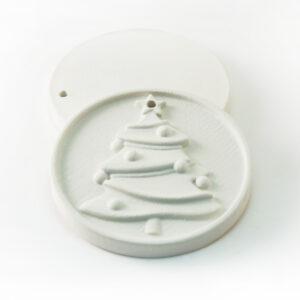 Елочная игрушка для росписи Елочка в Магазине Гипсики
