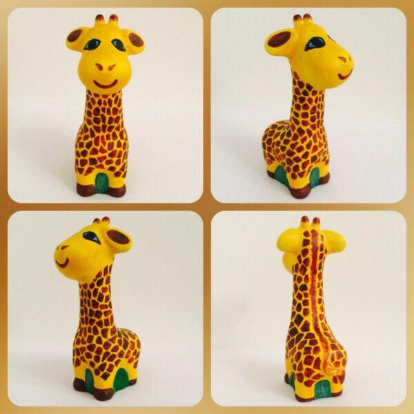 Гипсовая фигурка Жираф от ТМ Гипсики