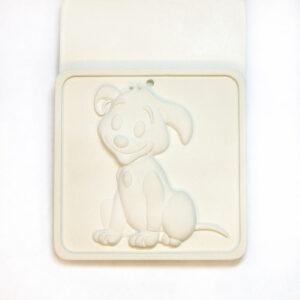 Елочная игрушка для росписи Собачка в Магазине Гипсики