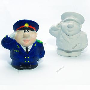 Гипсовая фигурка для раскрашивания Генерал от ТМ Гипсики