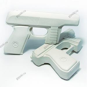 Гипсовая фигурка для раскрашивания Пистолет от ТМ Гипсики