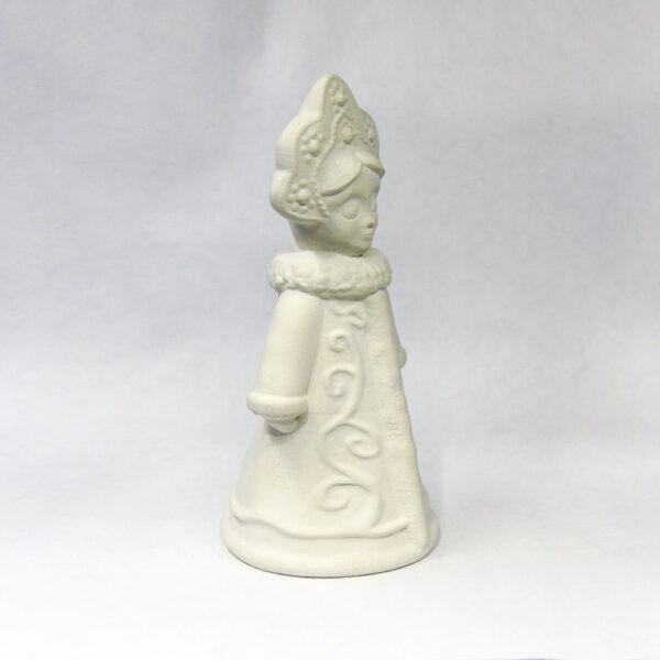 Гипсовая фигурка для раскрашивания Снегурочка от ТМ Гипсики