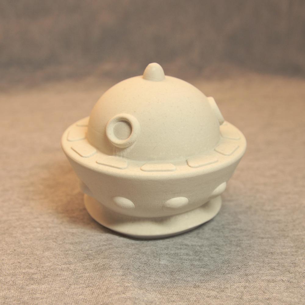 Гипсовая фигурка для раскрашивания НЛО (летающая тарелка) от ТМ Гипсики