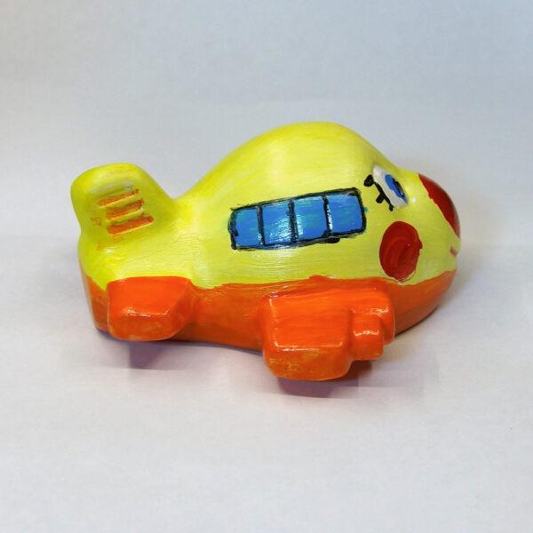 Гипсовая фигурка для раскрашивания Самолетик от ТМ Гипсики