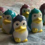 Гипсовая фигурка пингвин для раскрашивания от ТМ Гипсики