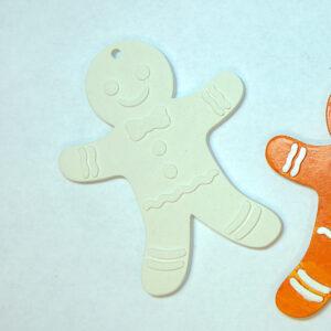 Елочная игрушка для росписи Рождественская Печенька в Магазине Гипсики