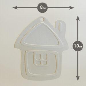 Пряничный домик для раскраски