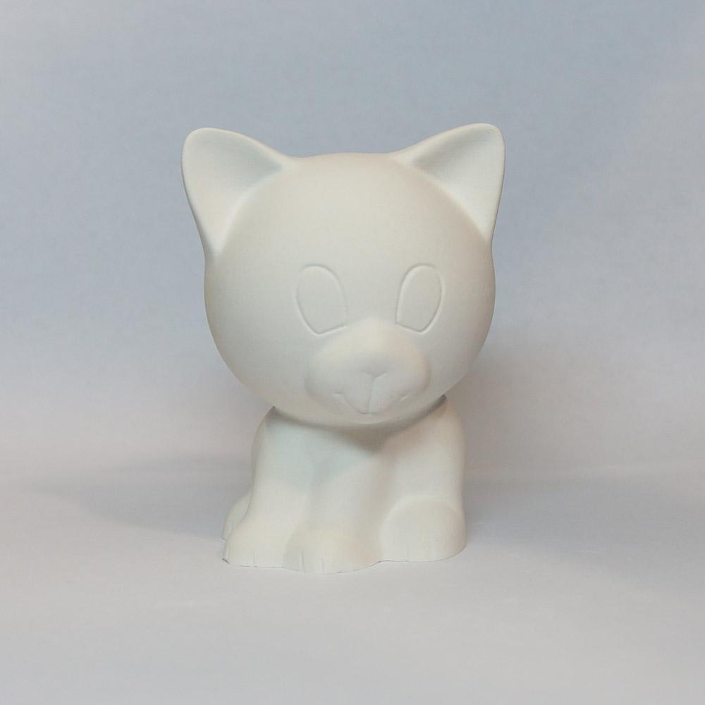 Гипсовая фигурка для раскрашивания Котёнок Гипсик от ТМ Гипсики