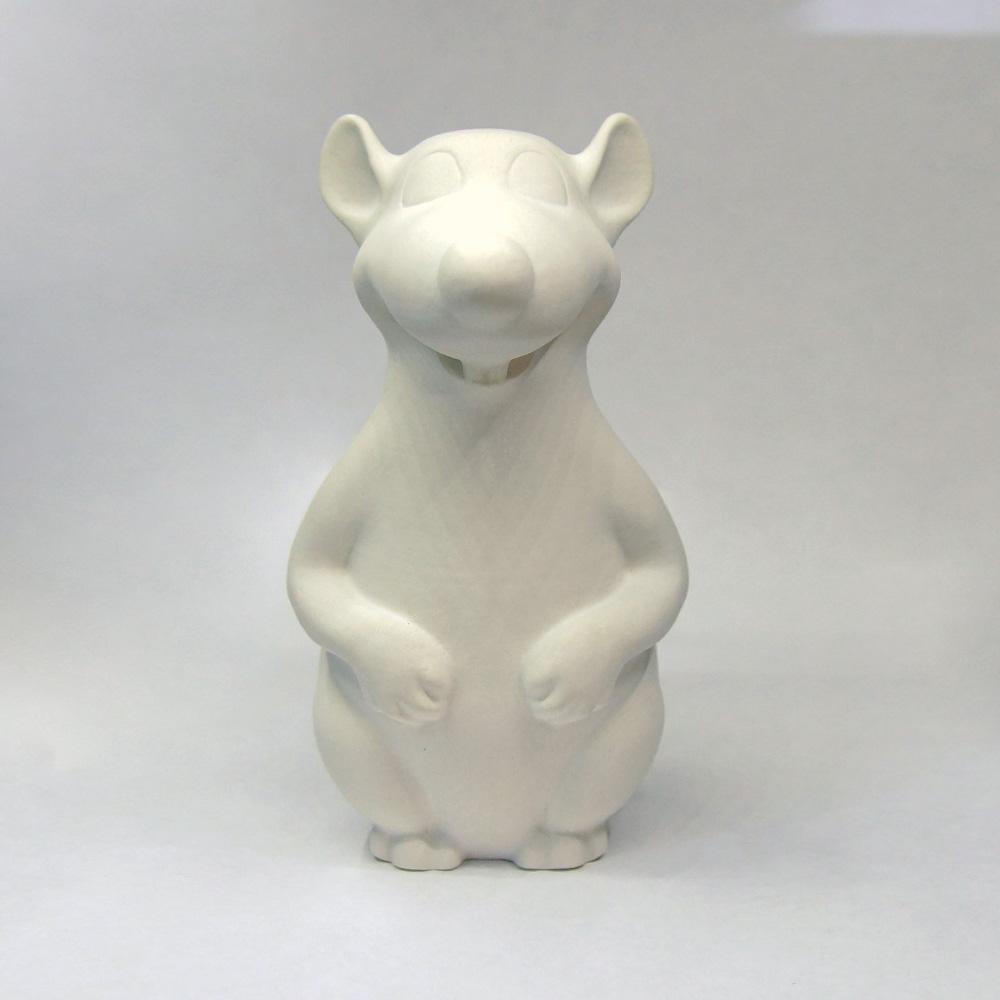 Гипсовая фигурка для раскрашивания Крыса
